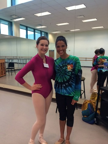 Student goes beyond the walls of Midland to dance