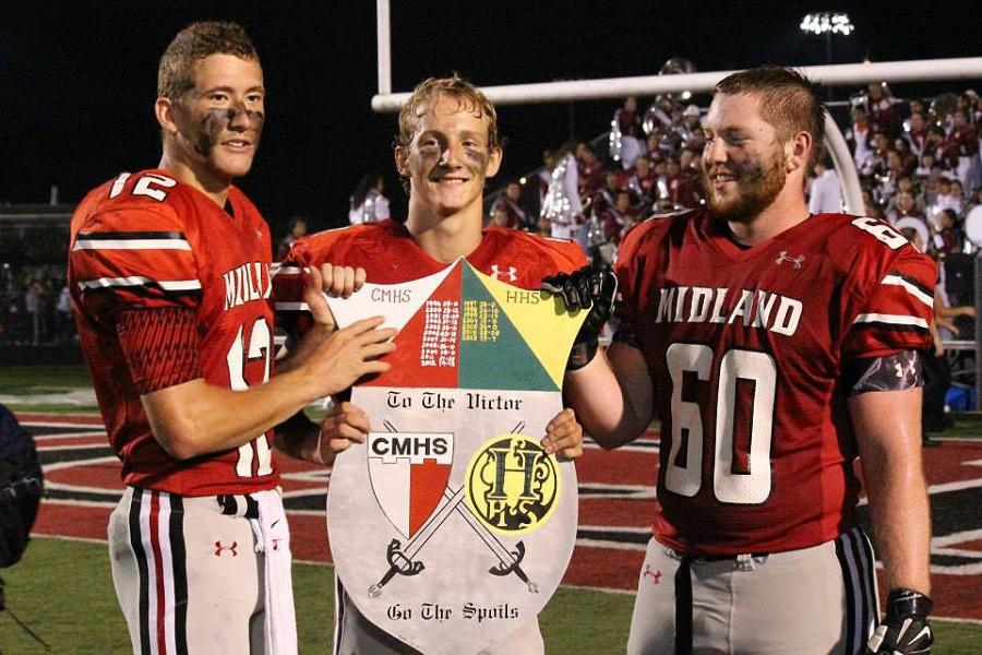 Earlier in the season, The Knights defeated Huntington and reclaimed the shield. Midland's second playoff game will prove to be an exciting and intense game for both the players and fans.