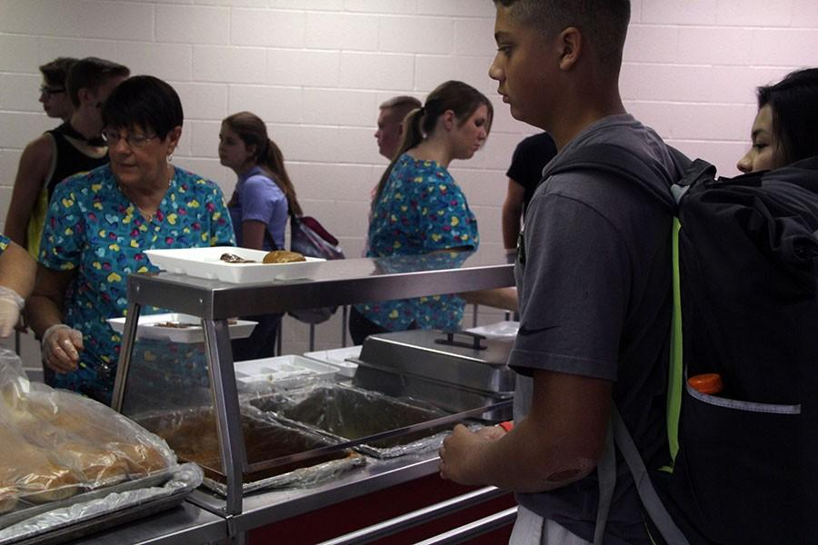 Providing many alternative meals for students, such as vegetarian options or meals that conform to allergen restrictions, the cooks work hard on a day to day basis to provide for students.