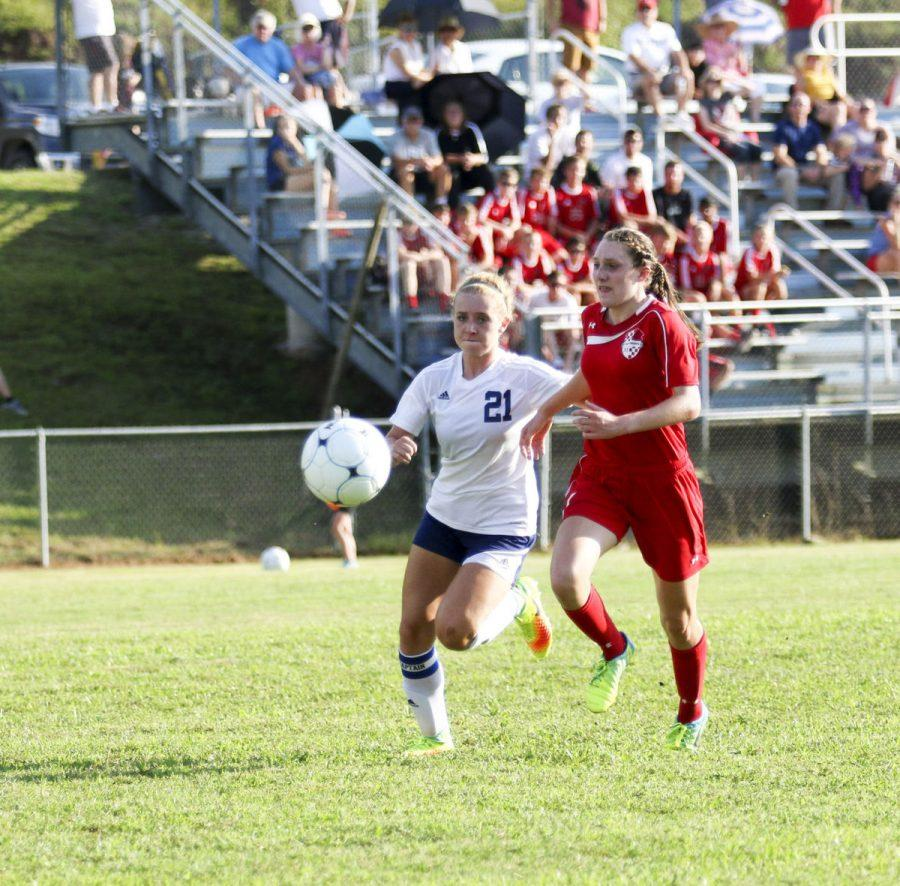 The Girl Soccer Knights have exceeded expectations already this year.