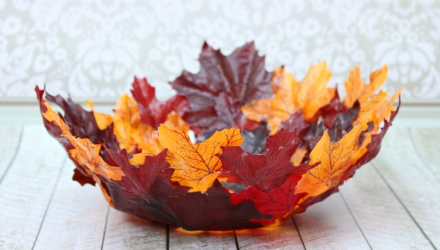 These autumn bowls can spice up any room.