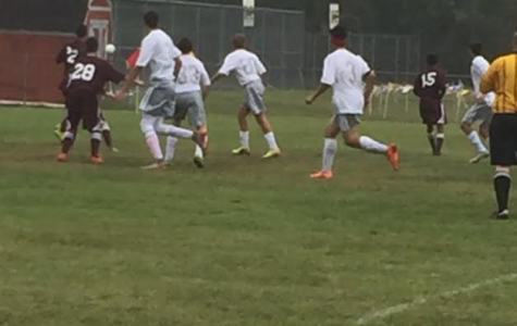 The boy's soccer team is working hard and striving to improve itself this year.
