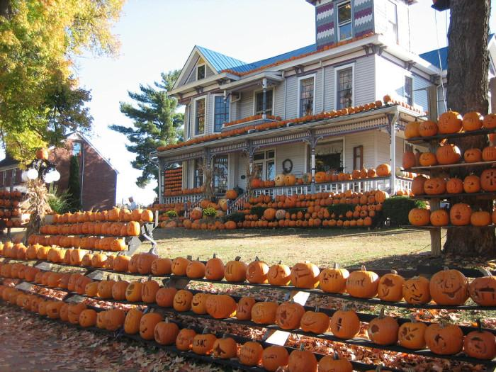 The Pumpkin House can be interesting and romantic.