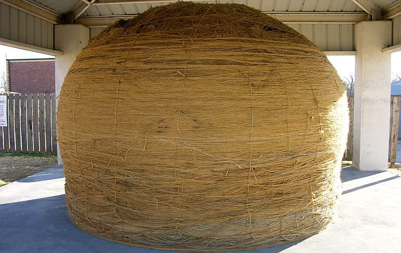 Senior Birke Jennings will travel to the world's largest ball of twine over Thanksgiving break.