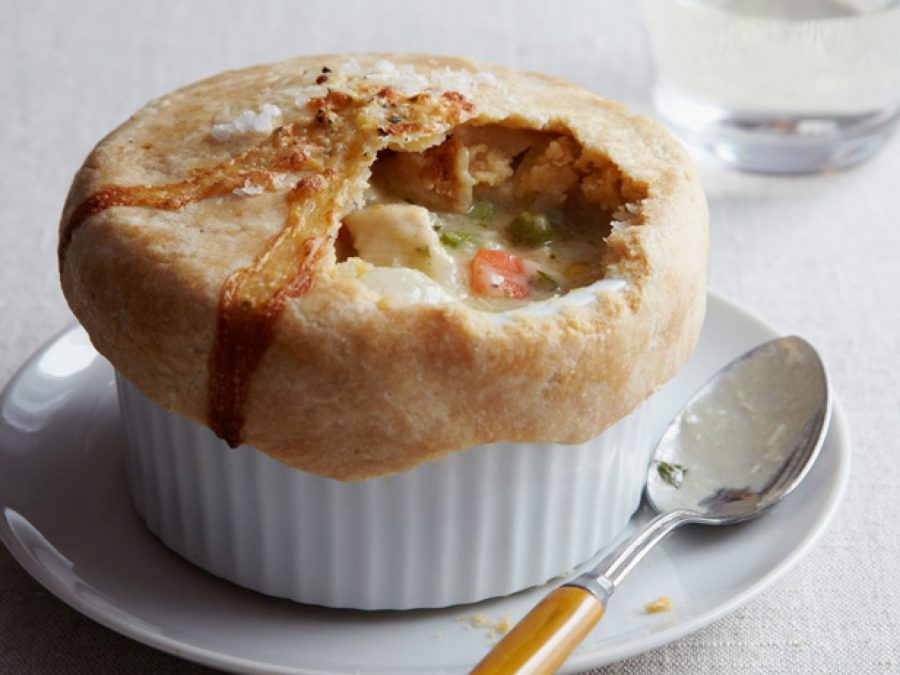 This Thanksgiving, create a delicious pot pie with your leftovers.
