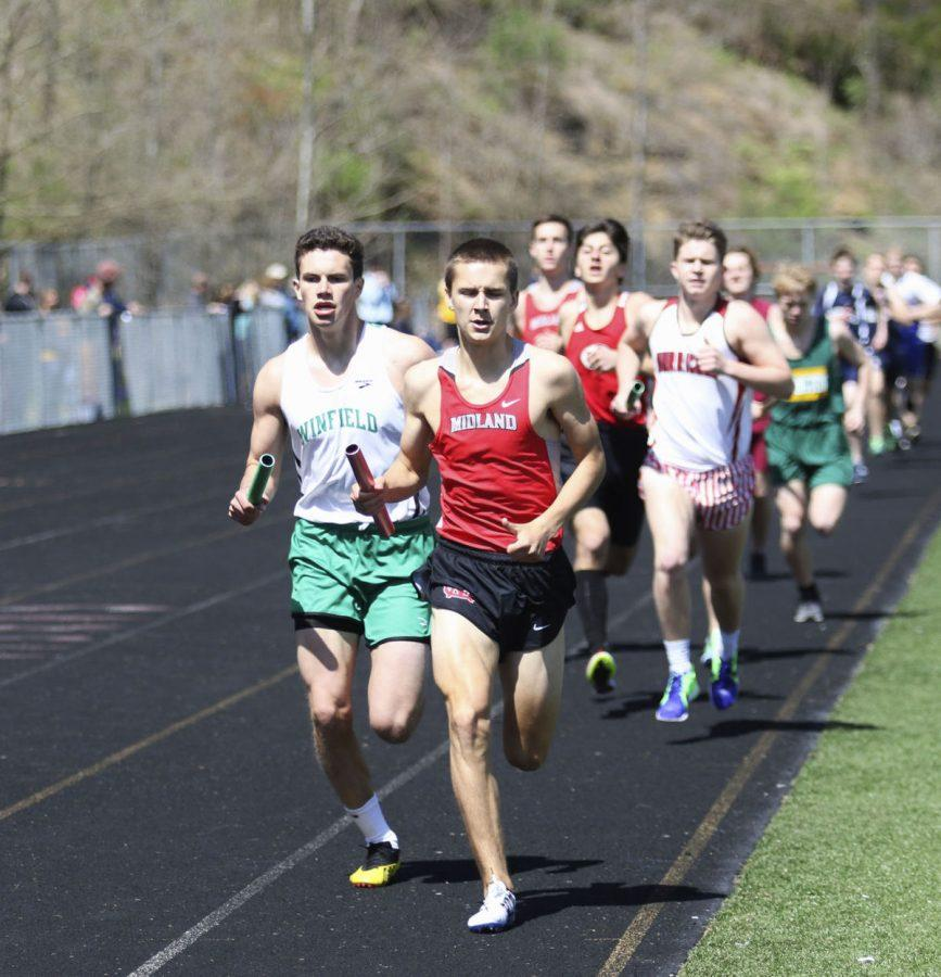 Track season is something to look forward to, according to ninth grade world history teacher Brian Casto.