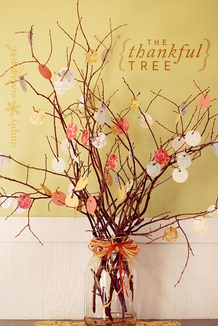 A Thankful Tree is a beautiful and creative way to show what matters to you.