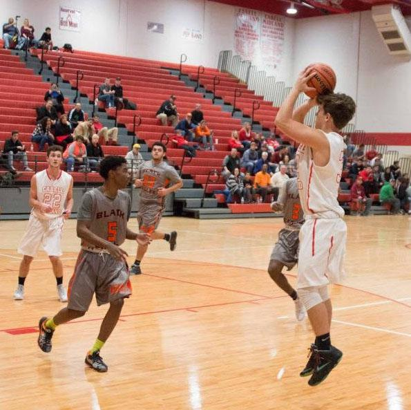 Sophomore Blake Tilley has a lot to offer his team and school.