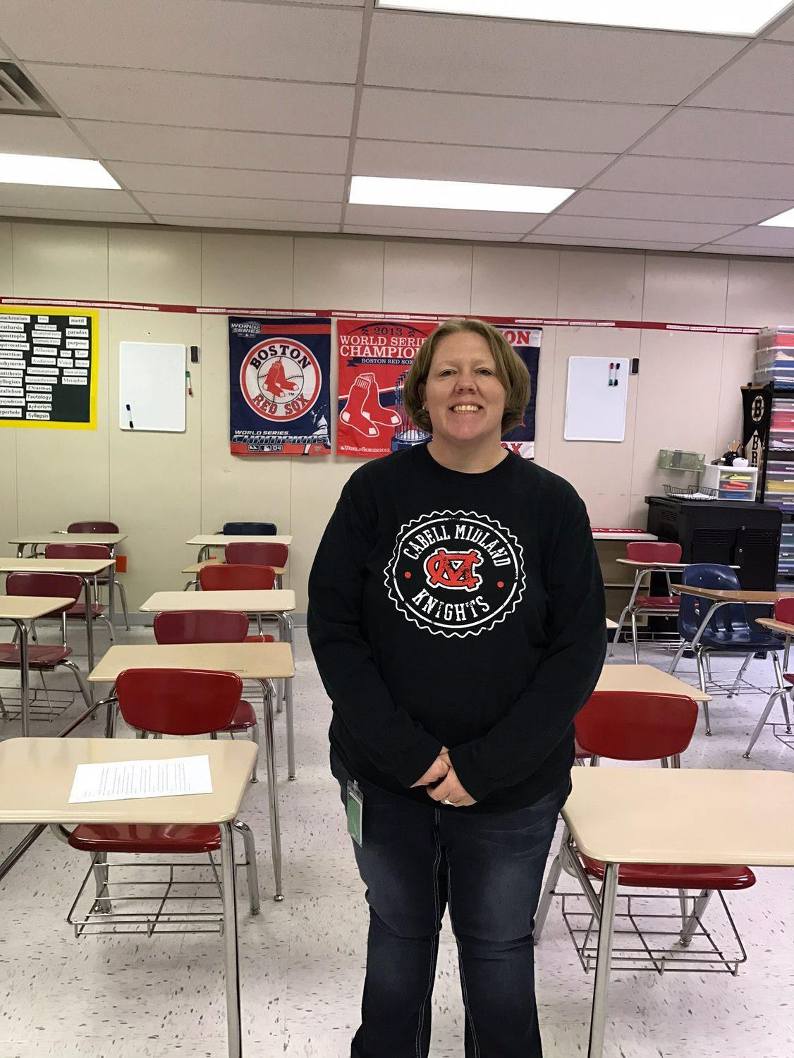 English teacher Shelly Brooks brings passion to her class and teaching.