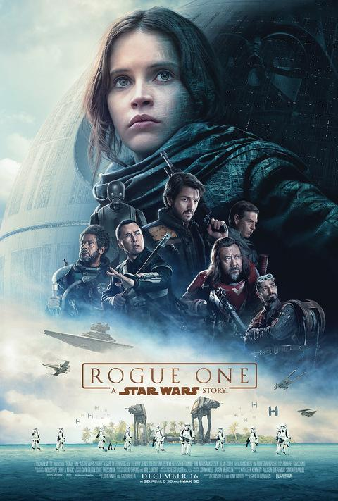 The number one movie out right now, Rogue One, takes the world by storm.