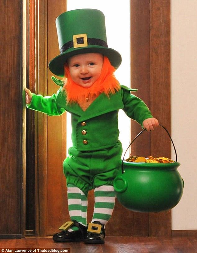 St. Patricks Day is a great time to have a laugh with friends.
