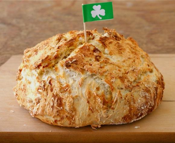 Irish Soda Bread tops off Saint Patrick's Day the right way.
