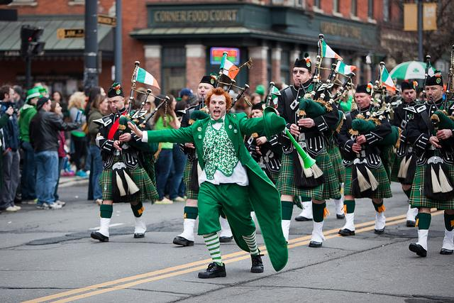 St. Patty's Day parades can be fun for the whole family and liven up the holiday.