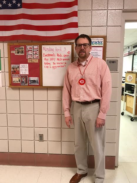 Scott White is a teacher that many students rave about.