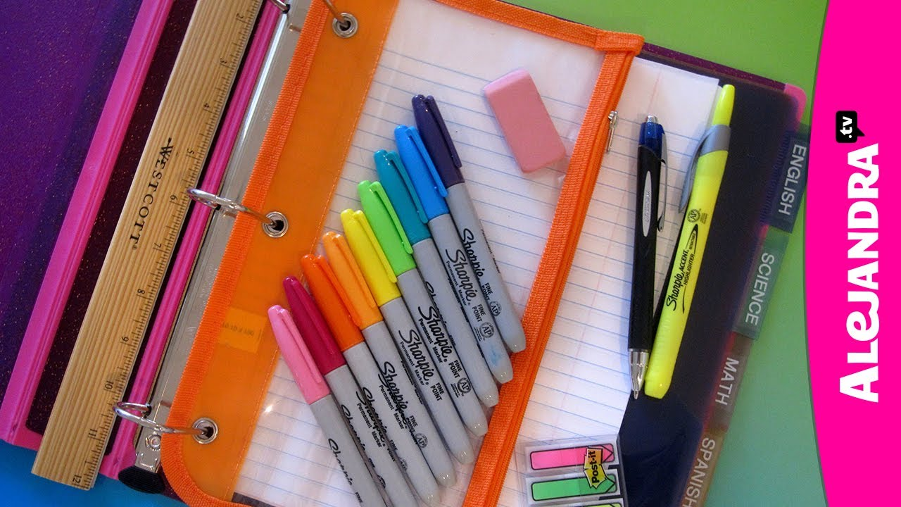 Example of organization for the school year.