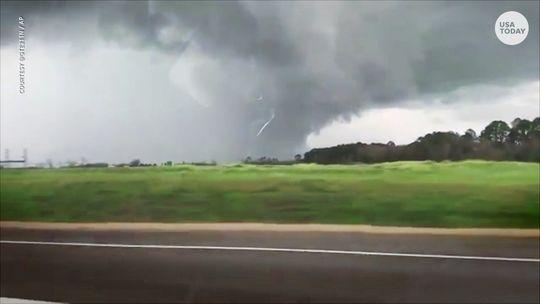 Tornado's in Alabama