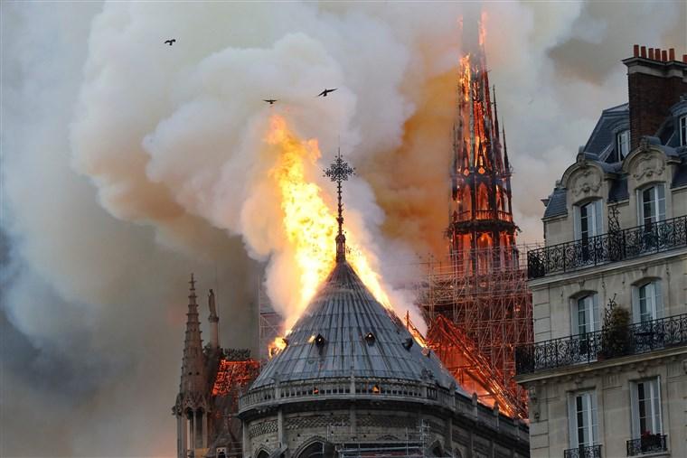 Notre-Dame+fire