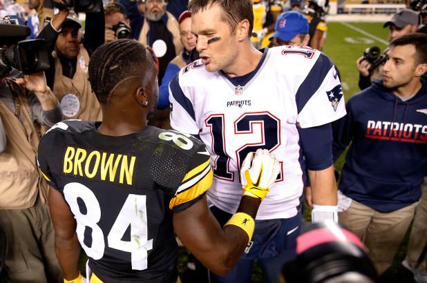 Antonio Brown to the Patriots