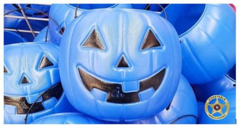What does the Blue Bucket Mean This Halloween?