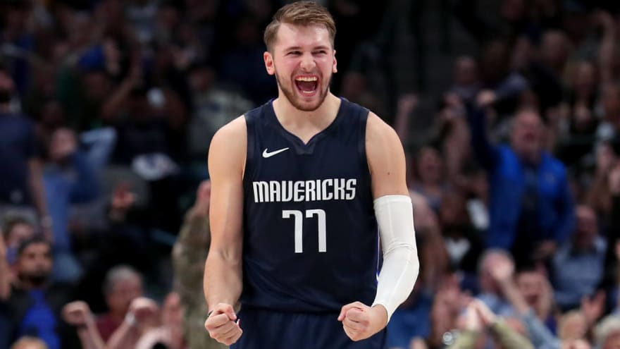 Luka Doncic Sidelined with a Ankle Sprain