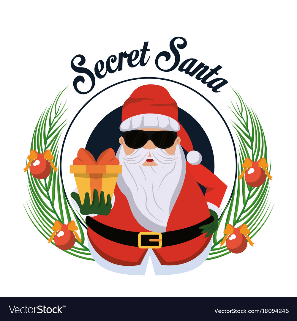 Credit-https://www.vectorstock.com/royalty-free-vector/secret-santa-cartoon-vector-18094246