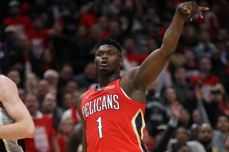 Zion Williamson's NBA Debut