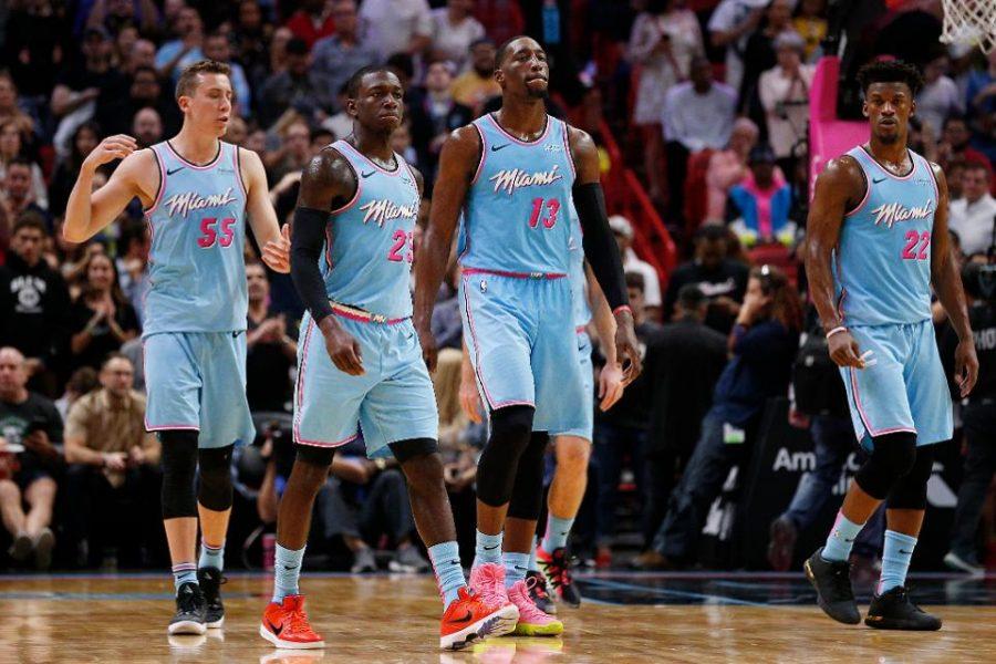 Heat Shuts down Giannis Antetokounmpo and the Milwaukee Bucks