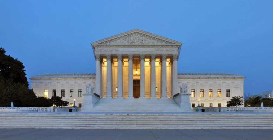 The Supreme Court building in D.C.