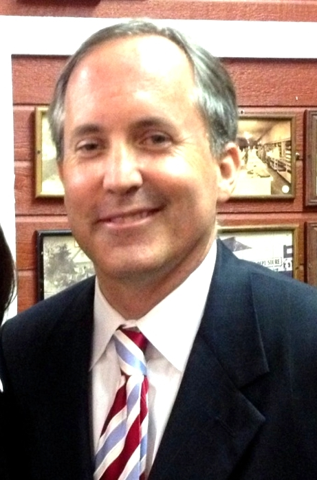 Texas Attorney General Ken Paxton, who is representing the State of Texas in the filing